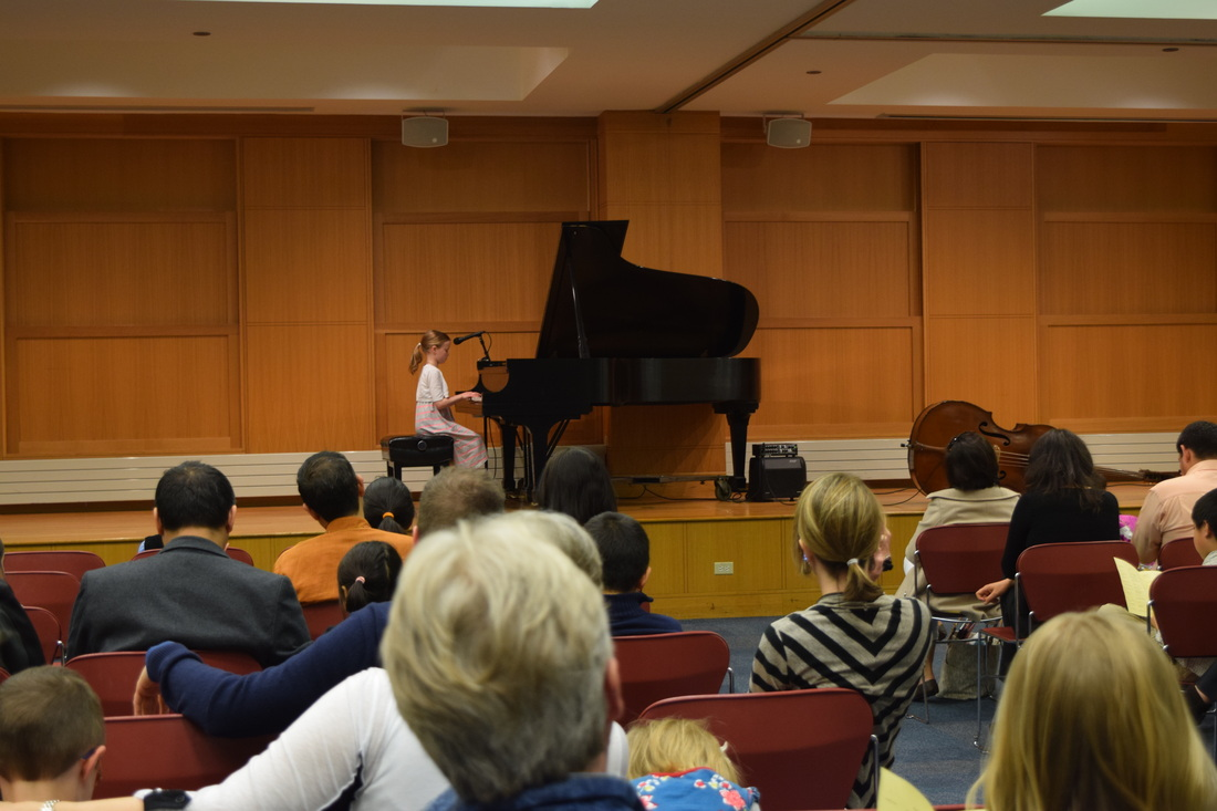 Recital at Arlington Heights Library